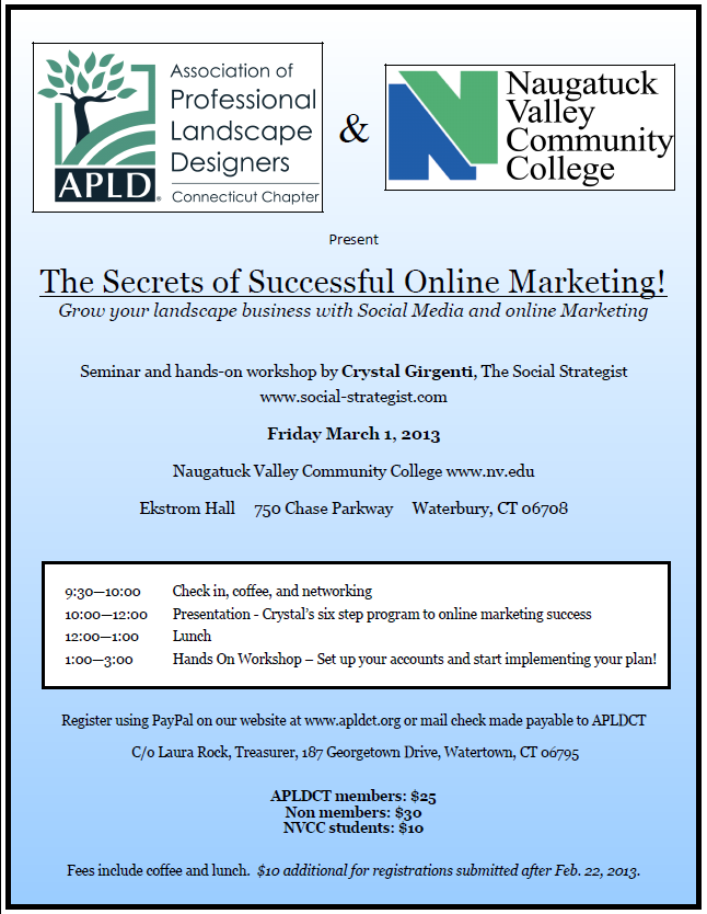 Secrets of Successful Online Marketing 3-1-13