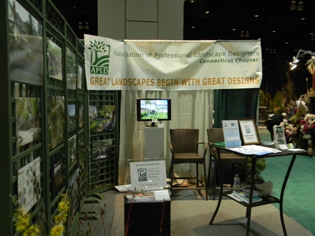 APLDCT booth at the 2013 Connecticut Flower Show