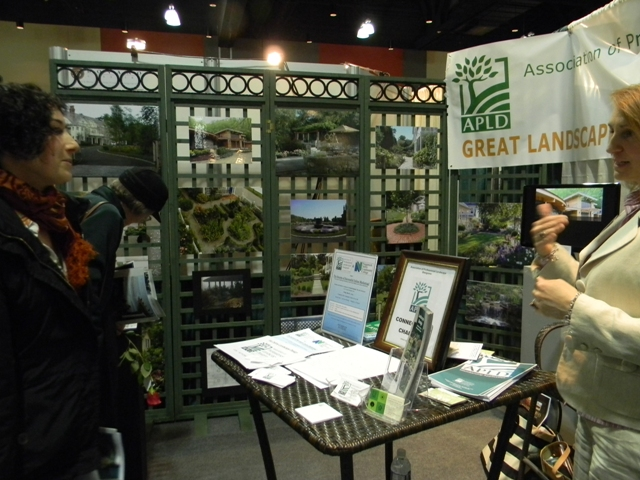APLD CT Booth at the 2013 Connecticut Flower Show