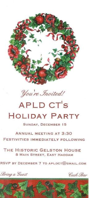 2013 Holiday Party invite