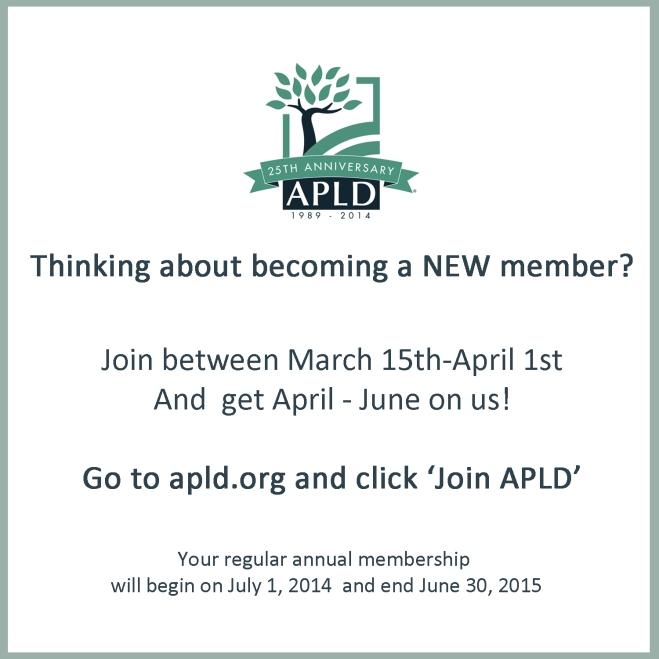 Membership Drive Announcement